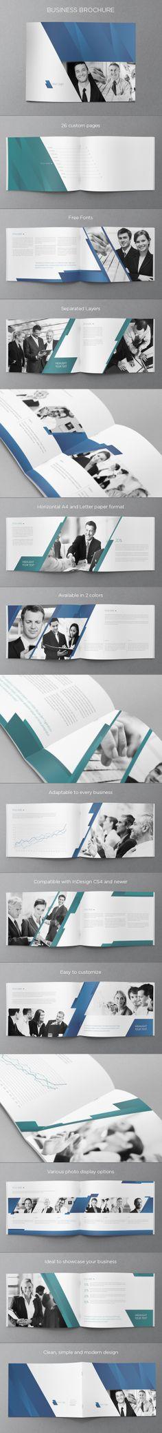 Business Brochure. Download here: http://graphicriver.net/item/business-brochure/5209636?ref=abradesign #design #brochure