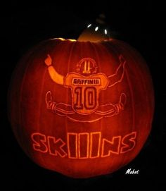 Washington Redskins Pumpkin Carving Kit