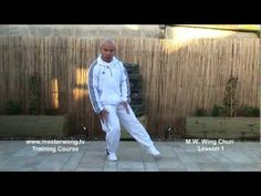 Wing Chun Lesson 1:Basic leg excercise (+playlist)