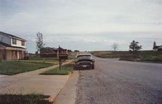 William Eggleston, Southern Environs of Memphis (Guide), Dye Transfer, 1972