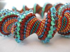spiral beads | Cellini Spiral Beading Class at Harlequin Beads and Jewelry View Image ...