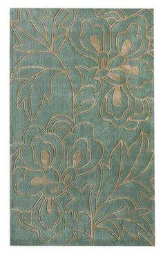 Rug - rich floral pattern @scrapwedo