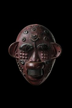 African Masks, African Art, Female Mask, Upper Lip, Art Auction, Tribal Art, Tanzania, Stuttgart Germany, Skull