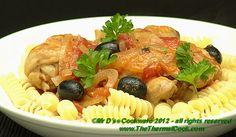 Mr. D's Thermal Cooker Chicken Cacciatore Recipe