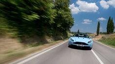 2017 Aston Martin DB11 front at speed