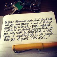 Mente analogica in mondo digitale e viceversa. Ma più la prima... #visual #lomo #journal #lamysafari #creativity #writing