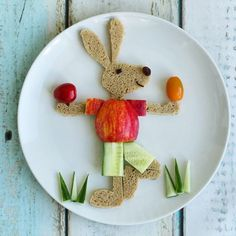 Mr Easter Bunny by Sandra en Jaira Dutchies (@keukenknutsels)