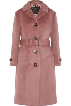 Burberry Prorsum | Brushed-wool coat | NET-A-PORTER.COM