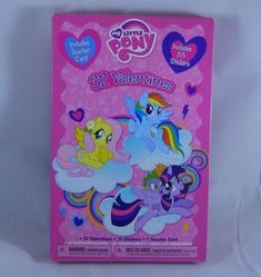 Happy Valentines Day 32 Cards My Little Pony and Rachaelhale