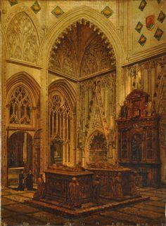 Pablo GONZÁLVEZ PÉREZ- Interior de la capilla de don Alvaro de Luna en la Catedral de Toledo
