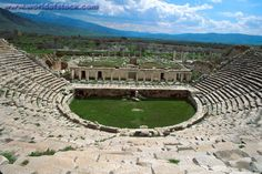 Turkey ruins | Stock Photo titled: Turkey Aphrodisia Ruins Of Greco-Roman City Built ...