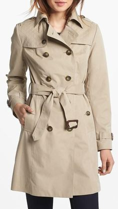 Nothing quite as cool as a classic trench.