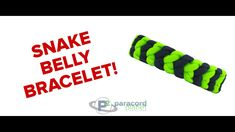 How To Make A Snake Belly Paracord Bracelet - Paracord Planet Tutorial