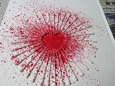 Herz spritzen