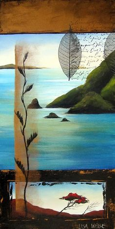 Abstract Landscape, Landscape Paintings, Landscapes, Altered Canvas, Turquoise Art, New Zealand Art, Nz Art, Maori Art, Kiwiana