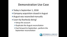 Sage Intacct: Automating Bank Reconciliations hosted by BTerrell Group