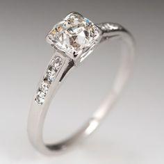 Heirloom Diamond Engagement Ring