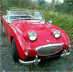 Austin Healey Bugeye Sprite was supposed to be my first car but my mom wouldn't co-sign the loan...still a little bitter