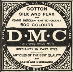 Today, I have an assortment of sewing-related advertisements from the early 1900's to share with you. These would be wonderful for as framed art for a sewing/craft room or studio. (Click on these images to enlarge and save.) I especially love the small emblem inside the DMC advertisement. Here is an ad for a set …