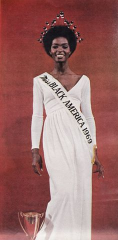 Gloria O. Smith, Miss Black America, 1969.