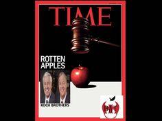 #TIMEfail koch brothers definitely ROTTEN apples!