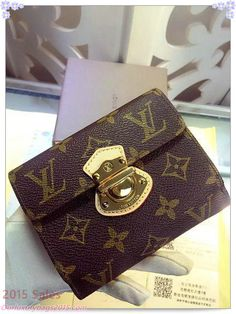 Louis Vuitton Bags · Louis Vuitton Monogram Canvas JOEY WALLET M60211 84e43b16af054