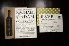 Rustic Vineyard Wedding Invitation Collection by seahorsebendpress, $8.00