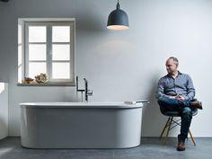 BATHROOM POETRY Inspiring discussions about style, aesthetics and the perfect designer bath. Vintage Bathrooms, Modern Bathroom, Bathroom Trends, Bathroom Styling, Beautiful Bathrooms, Bathroom Furniture, Bathroom Inspiration, Basin, Bathtub