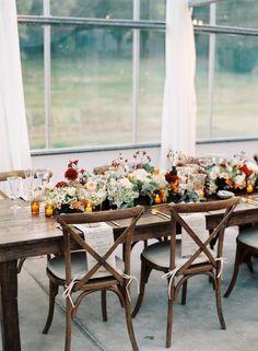 Una mesa para recibir el otoño