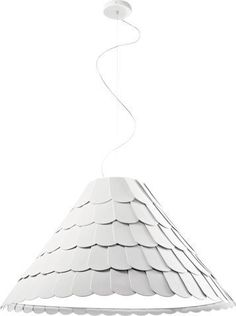 Fabbian Roofer Pendant Light - F12A03A32 - Brown/Orange
