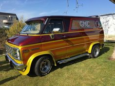 Customized 70's GMC van..vk