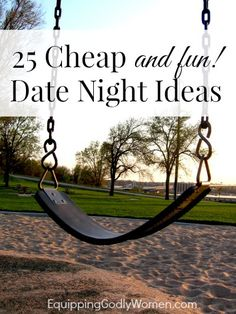 Think you can't afford a fun date night? You can with these 25 cheap and fun date night ideas!