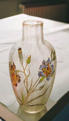 Vase de la cristallerie de Pantin, Ville de Pantin