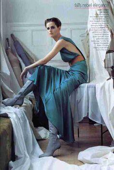 Versace. Vogue july 2001 steven meisel