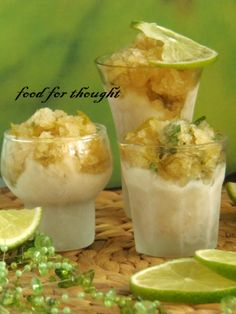 Smoothie Drinks, Mojito, Sorbet, Cantaloupe, Ice Cream, Pudding, Fruit, Desserts, Recipes