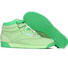 Reebok Womens Freestyle High Pastels (delta green / shamrock / white) 2-952039 - $69.99