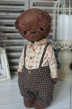 Купить Степан.. - мишка тедди, мишка, тедди мишка, тедди, медвежонок, мишка ручной работы