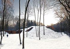 Montaña Holandesa, una casa enterrada en una colina. Denieuwegeneratie – Planos de Casas Gratis