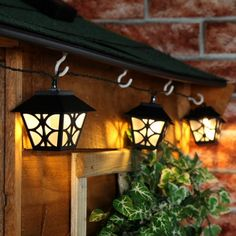 Solarny łańcuch lamp kolor ciepły 10 lamp - 2,7 metra