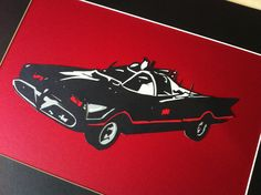 Batmobile papercut I finished today :) Batmobile, Paper Cutting, It Is Finished, Batman, Toys, Car, Activity Toys, Automobile, Vehicles