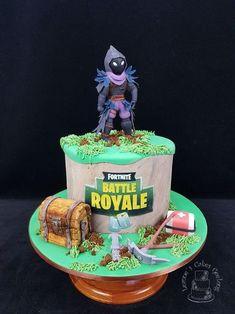 Las tortas más creativas de Fortnite Baby Cake Pops, 10 Birthday Cake, 10th Birthday, Birthday Ideas, Fondant Cakes, Cupcake Cakes, Unicorne Cake, Caramel Mud Cake, White Chocolate Mud Cake