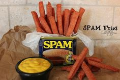 """its really hard to say on which pinboard this belongs food or better comidy/geek """"Lovely Spam, Wonderful Spam! Hillbilly Food, Hillbilly Party, Redneck Party, Bbq Party, Redneck Crafts, White Trash Party, White Trash Food, White Trash Recipe, Trailer Trash Party"""