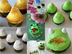 Cupcakes, Cookies & Pie, Oh, My! Big Mouth Frog Cupcakes DIY | homeiswheretheboatis.net