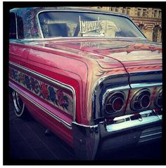 My favorite car 64 Impala, Gypsy Rose, Kustom Kulture, Lowrider, Dream Cars, Chevrolet, Classic Cars, Boards, Luxury Cars
