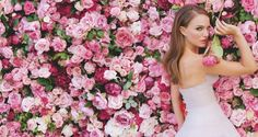 Natalie Portman #roses #classic