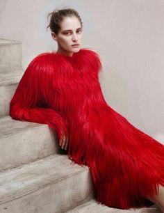 Vogue Germany September 2014 | Melina Gesto by Thomas Lohr [Editorial]