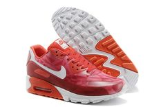 Wine Red Orange White Nike Air Max 90 Hyperfuse Premium Men s Shoes  Red   Womens ceec0a1db6