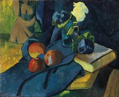 Still Life with Apples and Violets by Paul Serusier
