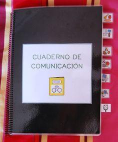 El baúl de A.L: PECS: Cuaderno / tablero de comunicación