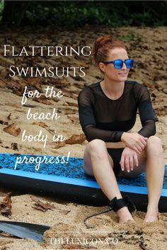 Flattering swimsuits for the beach body in progress! Pin now, read later.